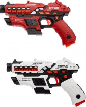 Набор лазерного оружия Canhui Toys Laser Guns CSTAG (2 пистолета + 2 жилета) (3810020)