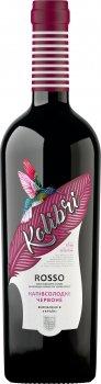 Вино Kolibri Rosso червоне напівсолодке 0.75 л 9-13% (4820014851766)