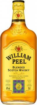 Виски William Peel Blended Scotch Whisky 0.5 л 40% (3107872006769)