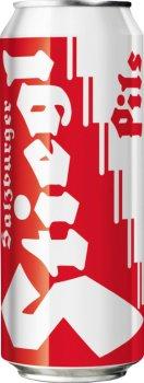 Упаковка пива Stiegl Pils светлое фильтрованное 4.9% 0.5 л х 24 шт (852527000106)