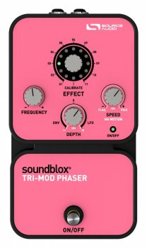 Гітарна педаль ефектів Source Audio Soundblox Tri-Mod Phaser (17-13-31-9)