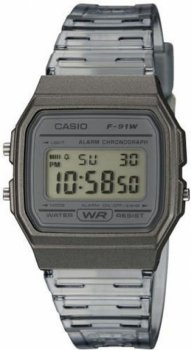 Чоловічі годинники Casio F-91WS-8EF