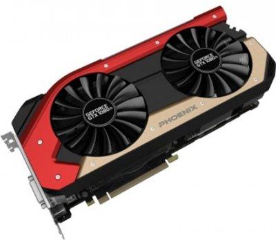 Gainward PCI-Ex GeForce GTX 1080Ti Phoenix 11GB GDDR5X (352bit) (1480/11000) (DVI, HDMI, 3 x DisplayPort) (426018336-3941)