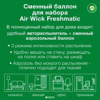 Сменный аэрозольный баллон к Air Wick Freshmatic Life Scents Дикий гранат Индия 250 мл (4607109407806)