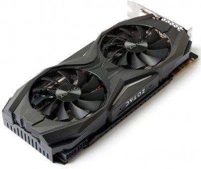Zotac PCI-Ex GeForce GTX 1070 AMP Edition 8GB GDDR5 (256bit) (1607/8000) (DVI, HDMI, 3 x DisplayPort) (ZT-P10700C-10P)