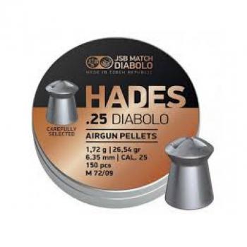 Кулі пневм JSB Hades, 6,35 мм