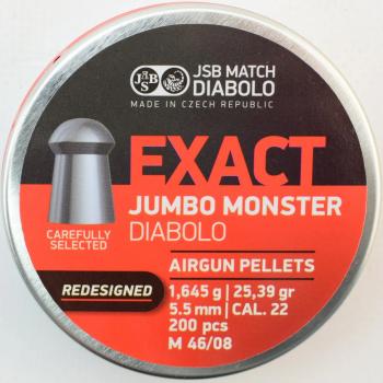 Кулі пневм JSB Monster Redesigned 5,52 1,645 мм гр. (200 шт/уп)