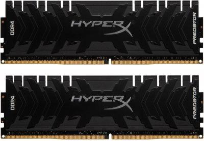 Оперативна пам'ять HyperX DDR4-3600 16384MB PC4-28800 (Kit of 2x8192) Predator Black (HX436C17PB3K2/16)