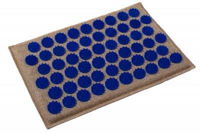 Масажний килимок (аплікатор Кузнєцова) Lounge Mini 32*21 см Синій