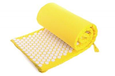 Масажний килимок (аплікатор Кузнєцова) Релакс 165*40 см Жовтий