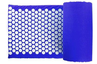 Масажний килимок (аплікатор Кузнєцова) Релакс 165*40 см Синій