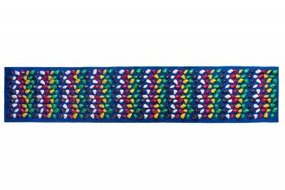 Масажний килимок Ортопед 200*40 см Синій