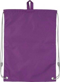 Сумка для обуви с карманом Kite Education Smart для девочек Фиолетовая (K19-601M-32)