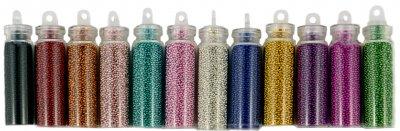 Набір бульйонок для дизайну нігтів Avenir Cosmetics 12 шт. (2009610009159)
