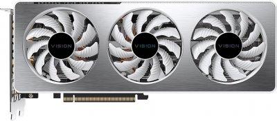 Gigabyte PCI-Ex GeForce RTX 3060 Ti Vision OC 8GB GDDR6 (256bit) (1755/14000) (2 х HDMI, 2 x DisplayPort) (GV-N306TVISION OC-8GD)