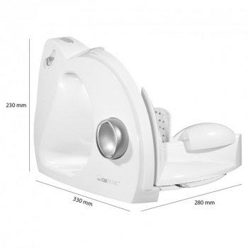 Ломтерезка слайсер CLATRONIC AS 2958 White 150W