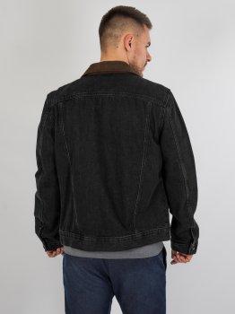 Джинсова куртка River Island 090320/68 (76716) Сірий