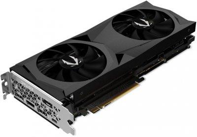 Zotac PCI-Ex GeForce RTX 2070 AMP Gaming 8GB GDDR6 (256bit) (1740/14400) (USB Type-C, HDMI, 3 x DisplayPort) (ZT-T20700D-10P)