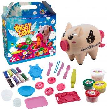Набор для творчества Strateg Мистер тесто - Piggy Cook (71511) (4820220561312)