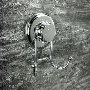 Крючок для полотенец на вакуумной присоске Hasko нержавеющая сталь (HA-73116)