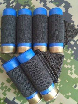 Комплект СайдСеддл (SideSaddle) BML – патронташ на ствольну коробку для дробовика 12 калібру з м'яких матеріалів (тканина) (77772)