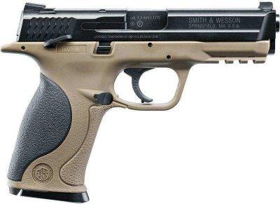 Пневматичний пістолет Umarex S&W MP40 TS FDE