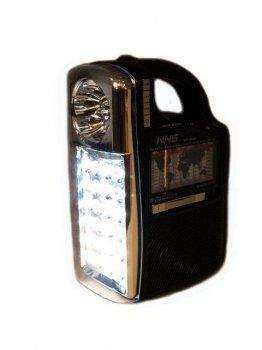 Радіо колонка MP3 з ліхтарем NNS NS-040U