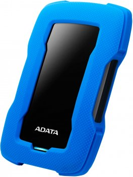 "Жорсткий диск ADATA Durable HD330 1TB AHD330-1TU31-CBL 2.5"" USB 3.1 External Blue"