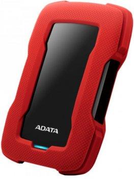 "Жорсткий диск ADATA Durable HD330 4TB AHD330-4TU31-CRD 2.5"" USB 3.1 External Red"
