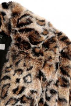 Полушубок H&M 5375456 Леопардовый