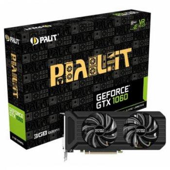 Видеокарта PALIT GeForce GTX1060 3072Mb DUAL (NE51060015F9-1061D)