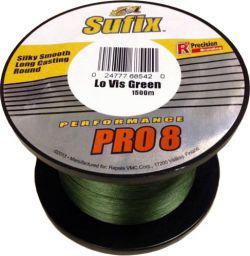 Шнур Sufix Performance Pro 8 1500 м 0.10 мм 6.5 кг Зеленый (DS1WF01093DG3P)
