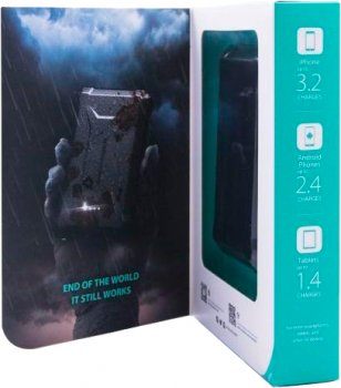 УМБ RAVPower 20100mAh 45W PD + QC 3.0 Waterproof Portable Charger Black (RP-PB097)