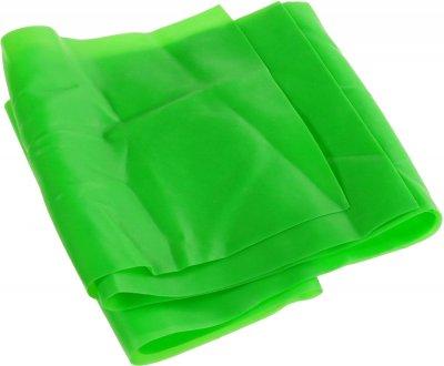 Латексна стрічка еспандер для фітнесу Supretto Зелена (5938-0001)