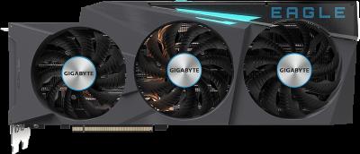 Gigabyte PCI-Ex GeForce RTX 3080 EAGLE OC 10GB GDDR6X (320bit) (1710/19000) (2 х HDMI, 3 x DisplayPort) (GV-N3080EAGLE OC-10GD)