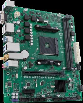 Материнська плата Asus PRO A320M-R WI-FI (sAM4, AMD A320, PCI-Ex16)