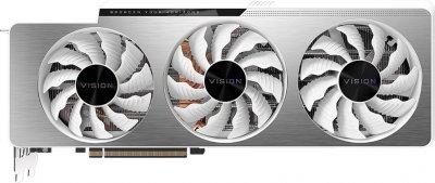 Gigabyte PCI-Ex GeForce RTX 3080 Vision OC 10GB GDDR6X (320bit) (1710/19000) (2 х HDMI, 3 x DisplayPort) (GV-N3080VISION OC-10GD)