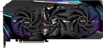 Gigabyte PCI-Ex GeForce RTX 3090 Aorus Master 24GB GDDR6X (384bit) (1695/19500) (3 х HDMI, 3 x DisplayPort) (GV-N3090AORUS M-24GD)