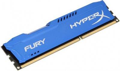 Оперативна пам'ять HyperX DDR3-1333 4096MB PC3-10600 Fury Blue (HX313C9F/4)