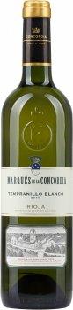 Вино Marques de la Concordia Tempranillo Blanco біле сухе 0.75 л 12.5% (8410396410147)