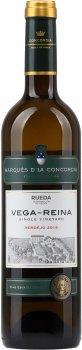 Вино Marques de la Concordia Vega Reina біле сухе 0.75 л 12.7% (8420839001139)