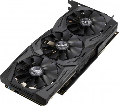 Asus PCI-Ex GeForce RTX 2060 ROG Strix Gaming OC 6GB GDDR6 (192bit) (1365/14000) (2 x HDMI, 2 x DisplayPort) (ROG-STRIX-RTX2060-O6G-GAMING )