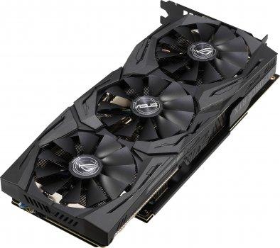 Asus PCI-Ex GeForce RTX 2060 ROG Strix Gaming OC 6GB GDDR6 (192bit) (1365/14000) (2 x HDMI, 2 x DisplayPort) (ROG-STRIX-RTX2060-O6G-GAMING )