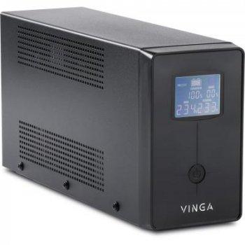 Джерело безперебійного живлення Vinga LCD 2000VA (VPC-2000M)