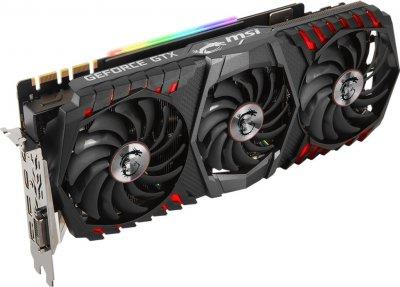 MSI PCI-Ex GeForce GTX 1080 Ti Gaming Trio 11GB GDDR5X (352bit) (1493/11016) (DVI, 2 x HDMI, 2 x DisplayPort) (GTX 1080 Ti GAMING TRIO)