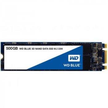 Накопитель SSD M.2 2280 500GB Western Digital (WDS500G2B0B)