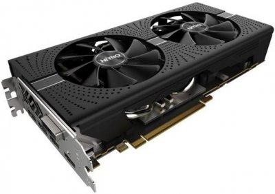 Sapphire PCI-Ex Radeon RX 570 Nitro+ 8GB GDDR5 (256bit) (1244/7500) (DVI, 2 x HDMI, 2 x DisplayPort) (11266-01)