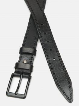 Мужской ремень кожаный Laras CV10gnn82-125 125 см Черный (ROZ6400028290)