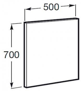Зеркало ROCA Victoria-N 50 см A812345406
