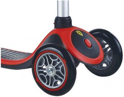 Самокат Globber Primo Plus Ferrari до 50 кг 3+ Черный (4897070183698) (440-152-2)